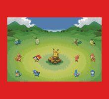 Pokemon Starters Kids Clothes