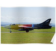 Hawker Hunter: G-PSST Poster