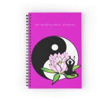 7 DAY'S OF SUMMER-YOGA ZEN RANGE-MINDFULNESS PINK NOTEBOOK Spiral Notebook
