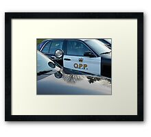 Reflections of Pride Framed Print