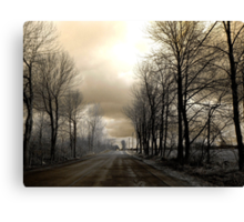 The Road ! Canvas Print