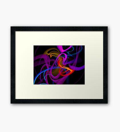 eco colors Framed Print