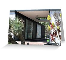 Case Study House 21, Pierre Koenig, Modern Architect Greeting Card