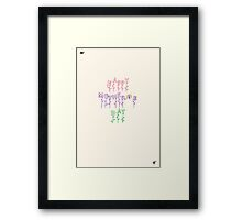Simple Mother's Day Card 1 Framed Print