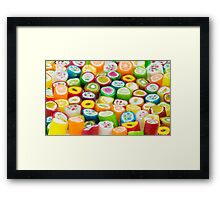 Fruit is Funky Framed Print