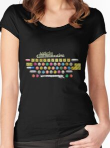 Addictive Communication Women's Fitted Scoop T-Shirt