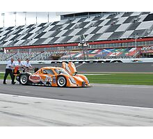 Automotive industry 2012 Rolex 24 at Daytona - #77 Frisselle Racing Combo Ford-Dallara Photographic Print