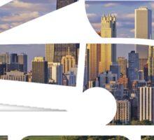 Chicago White Sox Skyline Logo Sticker