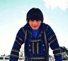 The Boy in the Blue Poncho by TiffanieH