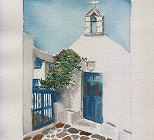 Blue Door by Aakheperure