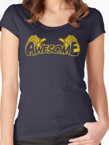 I'm Awesome Women's Fitted Scoop T-Shirt