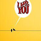 i like u by Loui  Jover