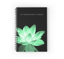 7 DAY'S OF SUMMER-YOGA ZEN RANGE- GREEN LOTUS NOTEBOOK Spiral Notebook