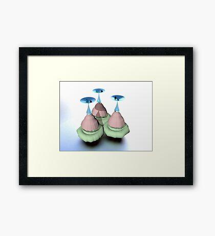 fluur Framed Print