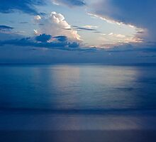 Dawn on the South China Sea. by Howard  Boyd