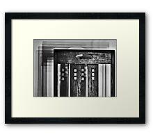 Shadowing Mackintosh Framed Print