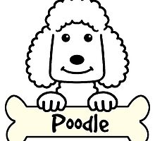 Poodle Cartoon by AnitaValle