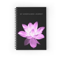 7 DAY'S OF SUMMER-YOGA ZEN RANGE- PINK LOTUS NOTEBOOK Spiral Notebook