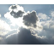 Mysterious Clouds Photographic Print