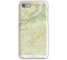 USGS Topo Map Washington State WA Aladdin 239775 1992 24000 iPhone Case/Skin