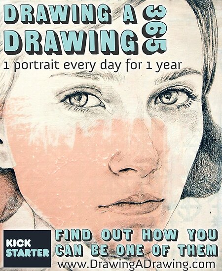 Drawing A Drawing 365: A New Kickstarter Project by Michael  Shapcott