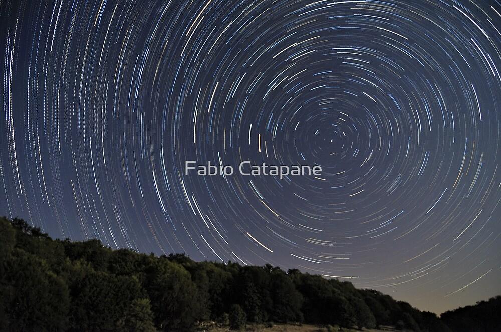 Campitelli Startrails, Abruzzo, Italy by Fabio Catapane