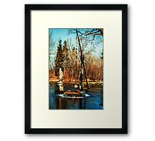 The Witch's Well Framed Print