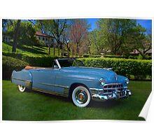 1949 Cadillac Series 62 Convertible Poster