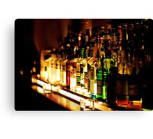 bar back office Canvas Print