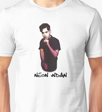 Neon Indian VEGA INTL. Unisex T-Shirt