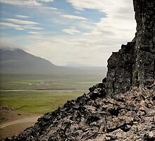 Crazy views of Iceland,  Borgarvirki. by Cappelletti Benjamin