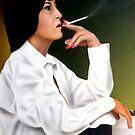 Smoking Woman by jsalozzo