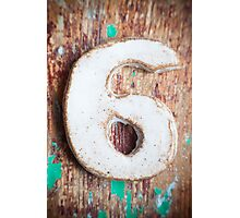 Number VI s2 Photographic Print