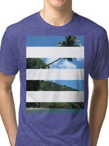 4 Strip Beach Tri-blend T-Shirt