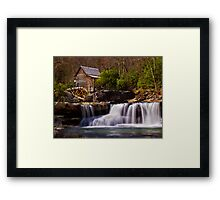 Falls At the Mill Framed Print