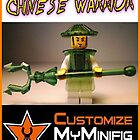 Customize My Minifig Collector Card 7 - Custom LEGO® 'Chinese Warrior' by Chillee