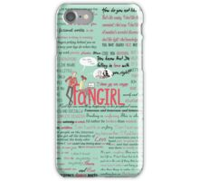Fangirl + Quotes iPhone Case/Skin