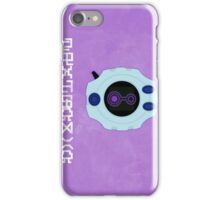 Knowledge - Digivice Crest iPhone Case/Skin