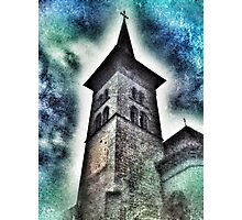 Notre-Dame basilica in Fribourg (Switzerland) Photographic Print
