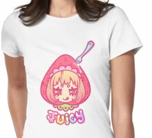 Werepop - Juicy strawberry fruit girl Womens Fitted T-Shirt