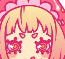 Werepop - Juicy strawberry fruit girl Sticker