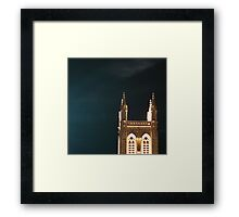 Gothic Spire Framed Print