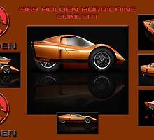 1969 Holden Hurricane Concept by Peter Kennelly