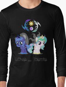Celestia & Luna - Love & tolerate Long Sleeve T-Shirt