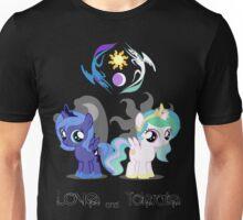Celestia & Luna - Love & tolerate Unisex T-Shirt