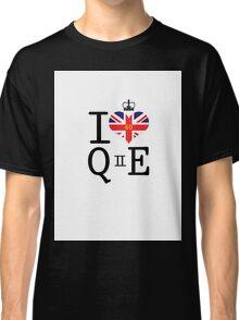 I heart Queen Elizabeth  Classic T-Shirt