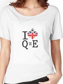 I heart Queen Elizabeth  Women's Relaxed Fit T-Shirt