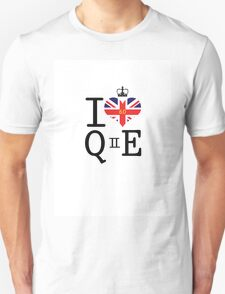 I heart Queen Elizabeth  T-Shirt