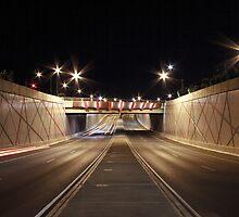 Anzac Highway underpass by Sean Mullarkey