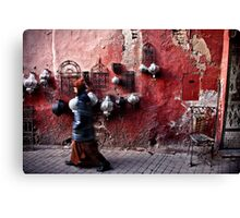 Marrakech The Red Canvas Print
